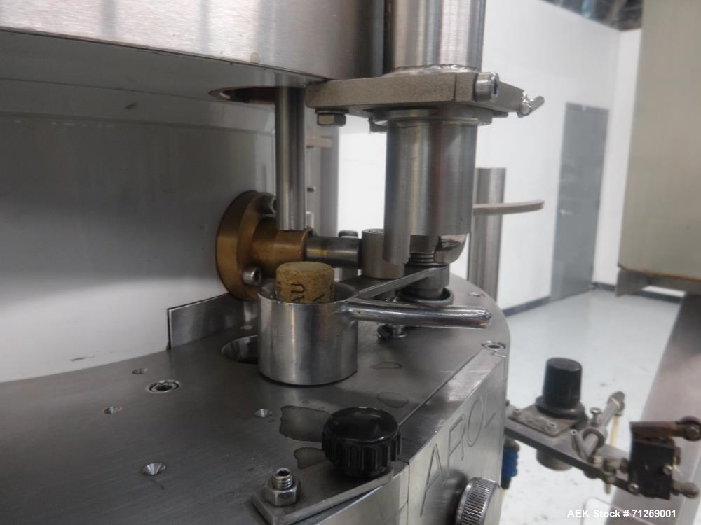 Used- AROL Closure Systems Model Saturno R-420 Wine Corker