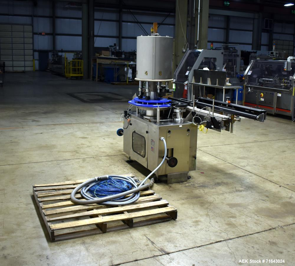 Used- Pneumatic Scale Angelus Model J 815 Container Plugger