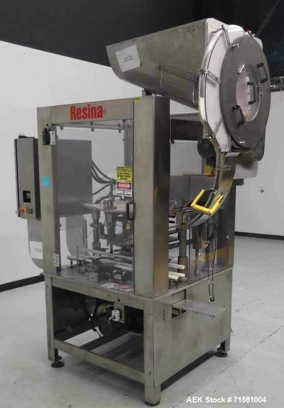 Used- Resina Model NRS-51 Single Chuck Cap Plugger