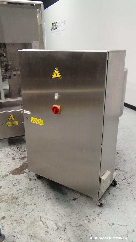 Used- Groninger Model KVG 201 Restriction Plug Inserter and Overcapper