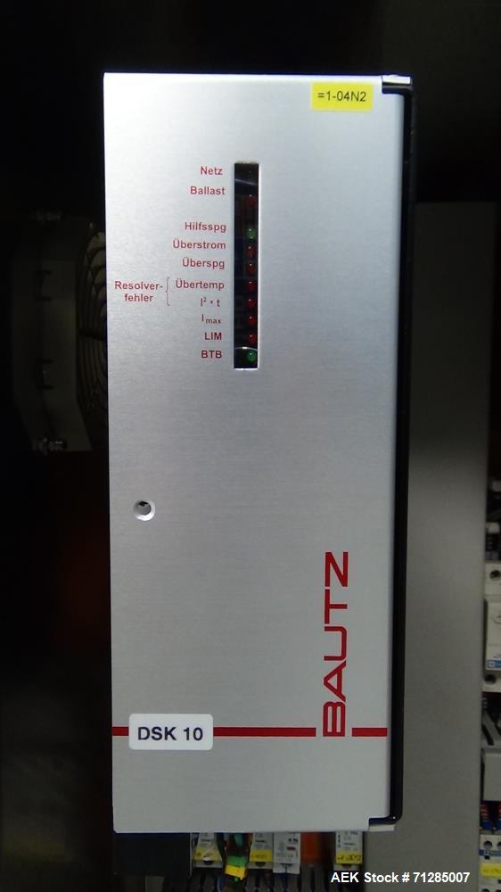 Used- Groninger Model KVG 201 Restriction Plug Inserter and Overcapper