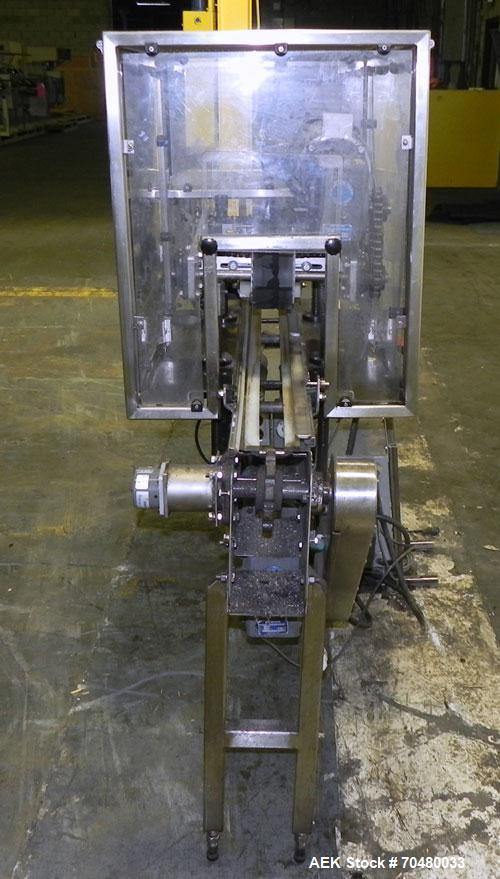 Used- Inline Bottle snap lid press