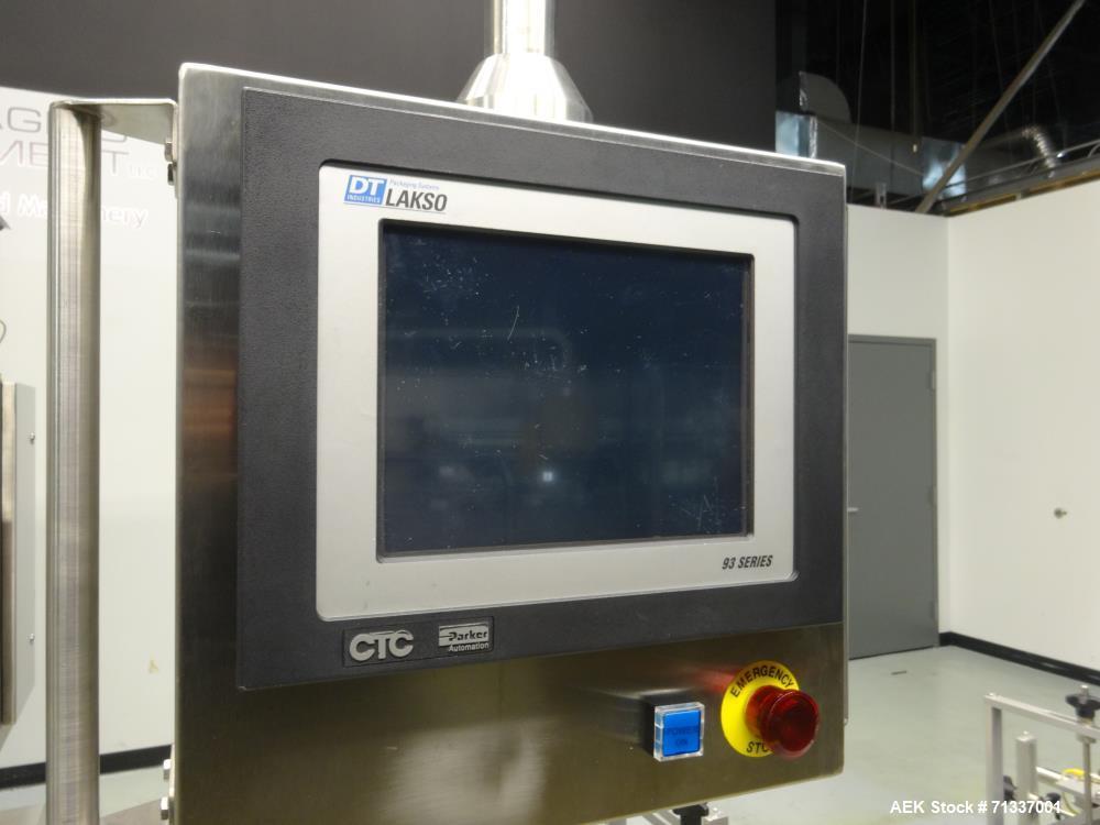 Used- DL Tech (Aesus) Model DLCap 4C/E8C Automatic Quill Capper