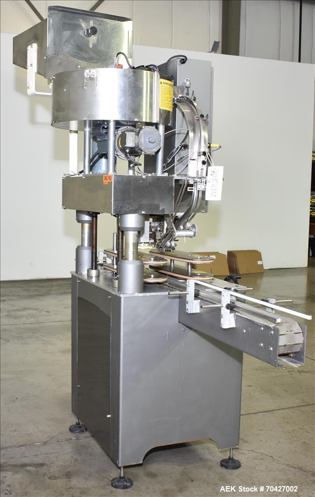 Used- Kaps-All Model D Automatic Inline Screw Capper
