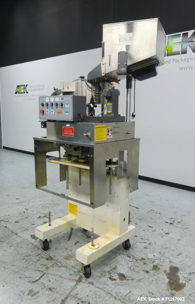 Used- Kaps-All Model E4 Portable Spindle Capper