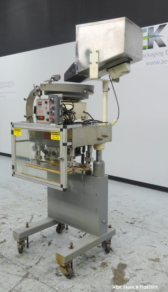 Used- Kaps-All Model E Portable Spindle Capper