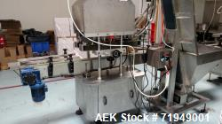 Used- ELC Packaging High Speed Capping Machine, Model ELC-G200. Capping speed 50-200 bottles/min. Bottle size 30-120mm high....