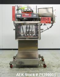 Used- Pack West Model Auto 120 Right-To-Left Automatic Inline Spindle Capper