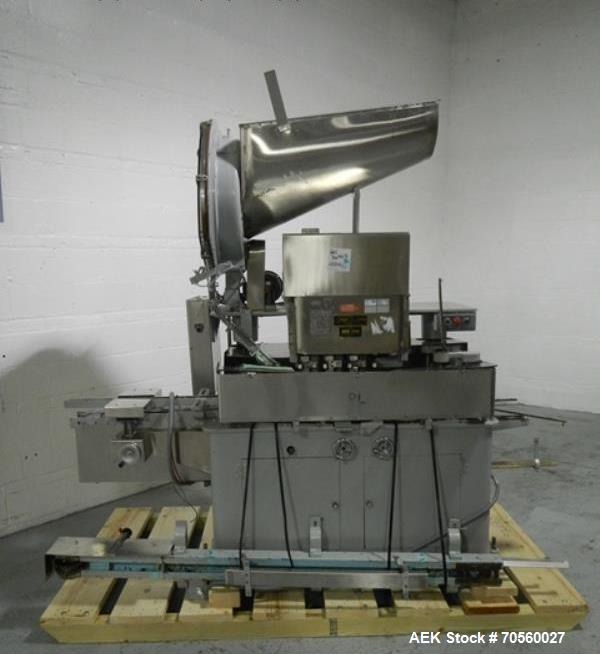 Used- Resina Model U40 Automatic Inline Screw Capper