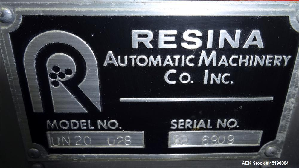 Used- Resina Model UN 20 Quill Capper