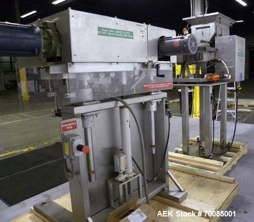 Used- SureKap Fully Automatic Straight Line Six Spindle Quill Capper, Model SK6000-SP. Capacities 100 bottles per minute dep...