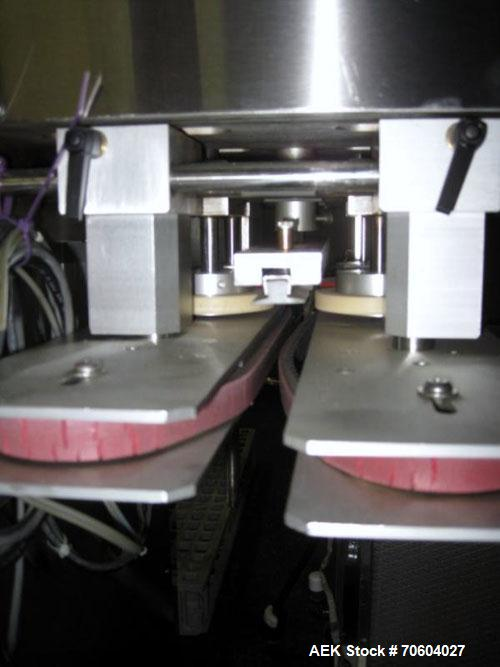 Used- Kalish 5770 Retorquer. (2) Spindle, 120 volt with side bump belts, serial #07.