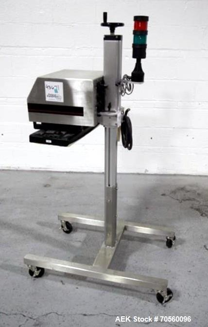 Used- Enercon Superseal DX Induction Sealer, Model LM5009-21, Serial# C21237-01.