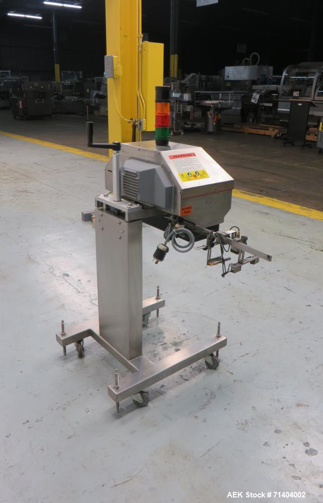 Used- Kapsall Model AM-250 2.5Kw Automatic Waterless Induction Foil Cap Sealer