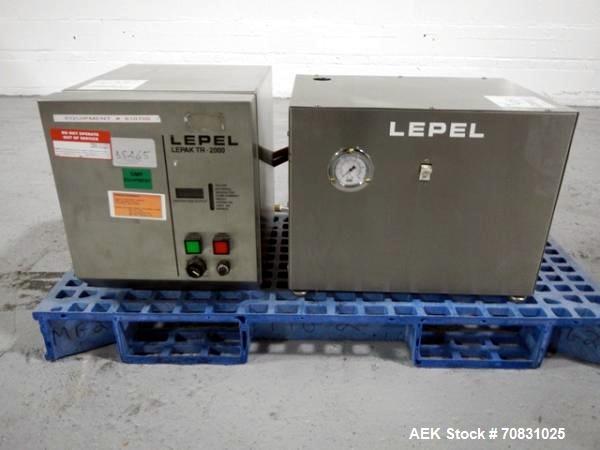 Used- Lepel Induction Sealer, Model LEPACK TR-2000 A