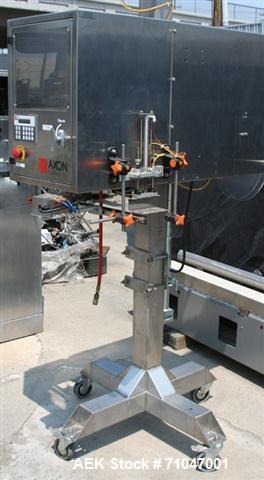 Used- Axon EZ-130 (E12-130HS) Bander