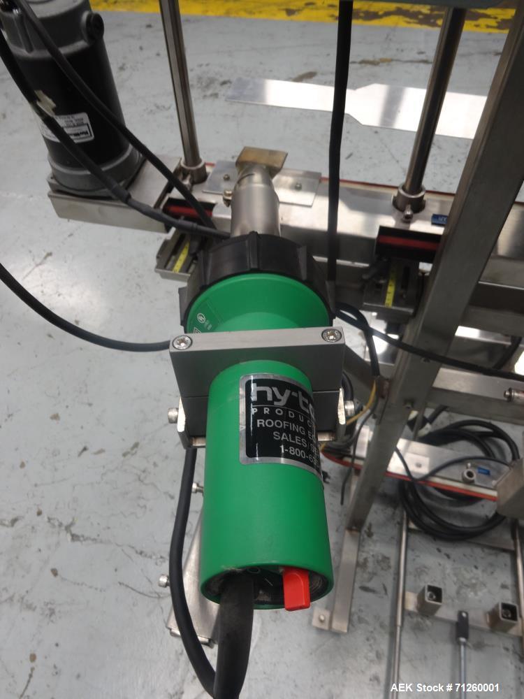 Used- Marburg Model M-5B Tamper Evident Shrink Labeler