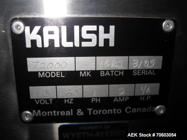 Used- Kalish Bandit 90 Neck Bander, Model 72000