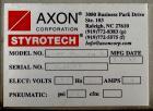 Used- Axon Model EZ-400 Wide Format Sleeve Labeler