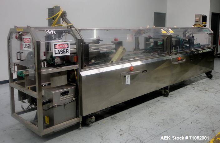 Used- Kliklok Genesis Model GLC Triseal Topload Carton Closing Machine