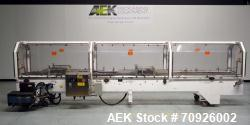 Used- Adco Hot Glue Style Top-Load Tri-Seal Carton Closing Machine, Model 16C50-