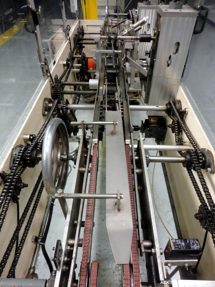 Used- Tanney Inline Triseal Top Load Carton Closer, Model 807-15
