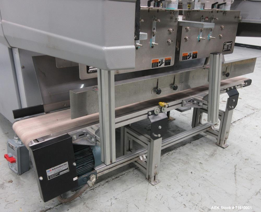Used- Bosch (Doboy) Model 7520 Automatic Dual Head Tray Former and Top Load Carton Former. Capable of speeds from 50 - 150 T...