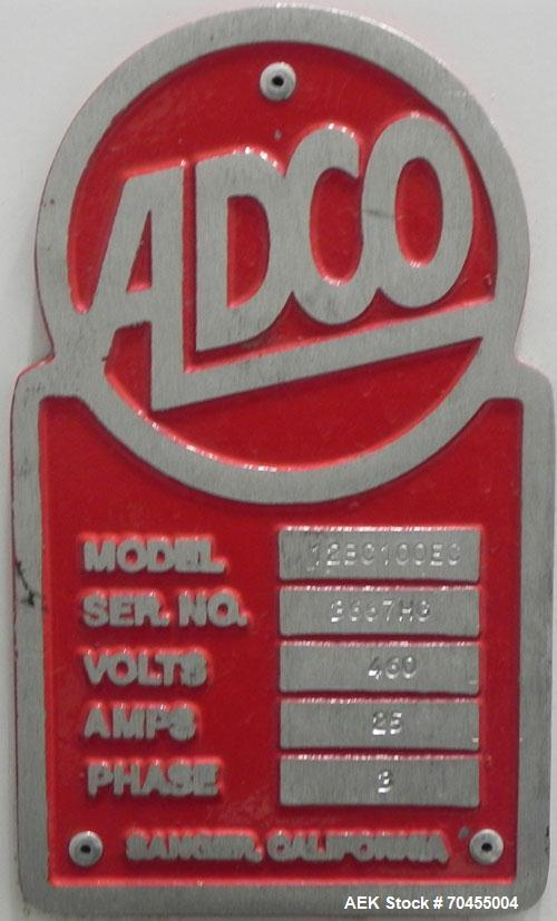 Used- Adco Model 12BC100EC Automatic Horizontal Cartoner