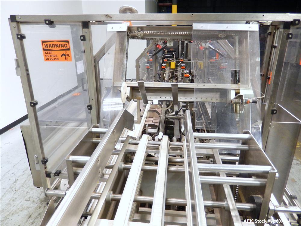 Used- Adco Model 15DBC105-SS Horizontal Automatic Load Glue Cartoner.
