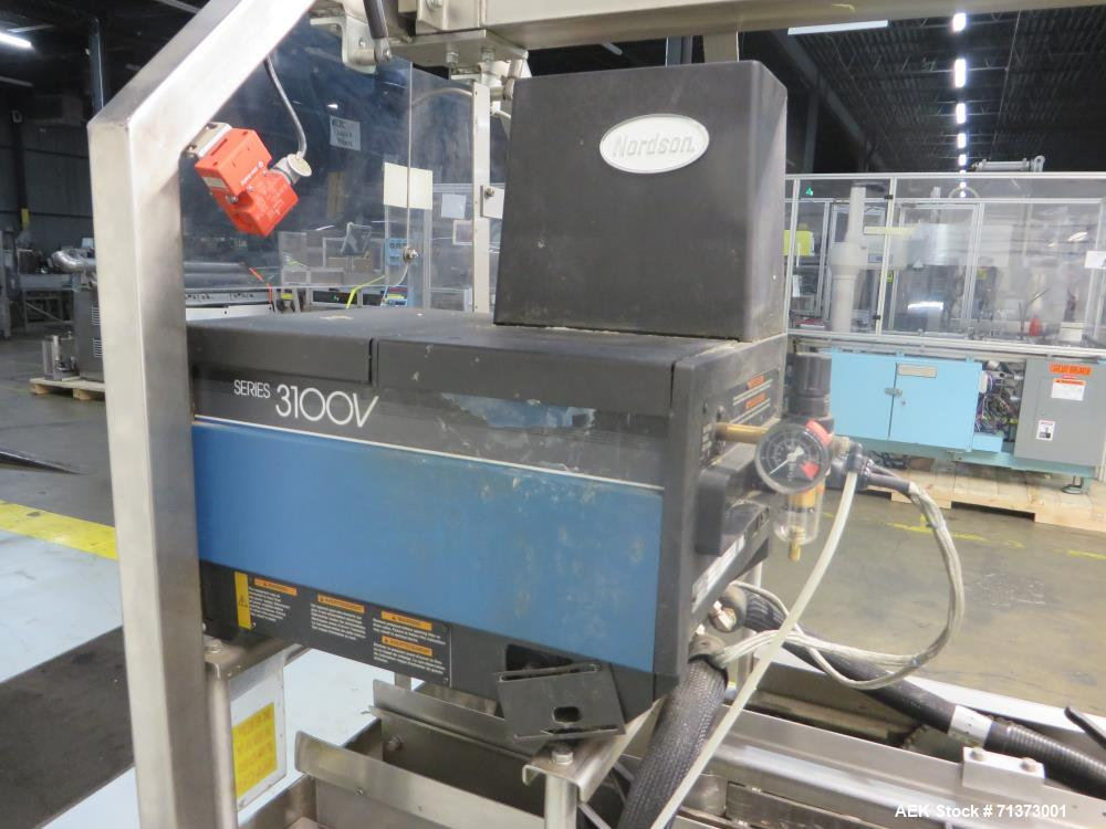 Used- Adco Model 15DBC105-SS Horizontal Automatic Load Glue Cartoner