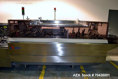 Used- Rose Forgrove Model RF 520 Automatic Horizontal Cartoner