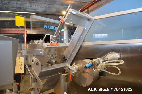Used- Bergami AS150TR Automatic Horizontal Tuck Cartoner