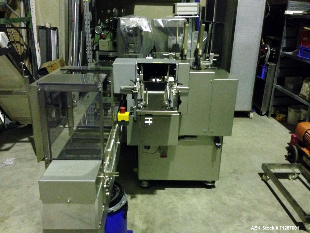 Used- Bosch (Harro Hoflinger) Cartonetta Horizontal Cartoner. Capable of speeds up to 60 cartons per minute. Has a carton si...