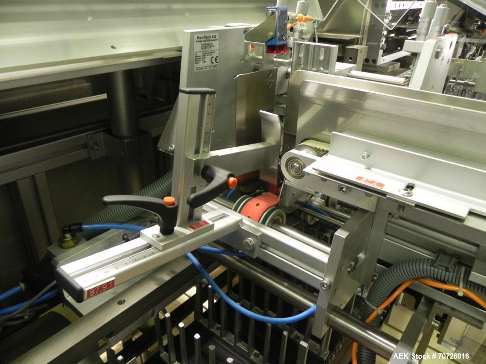 Used- Bosch CUK 3060 Horizontal Blister Cartoner