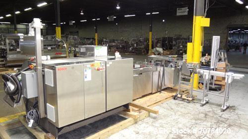 Used- Bosch CUT120 Automatic Intermittent Motion Horizontal Tuck Cartoner