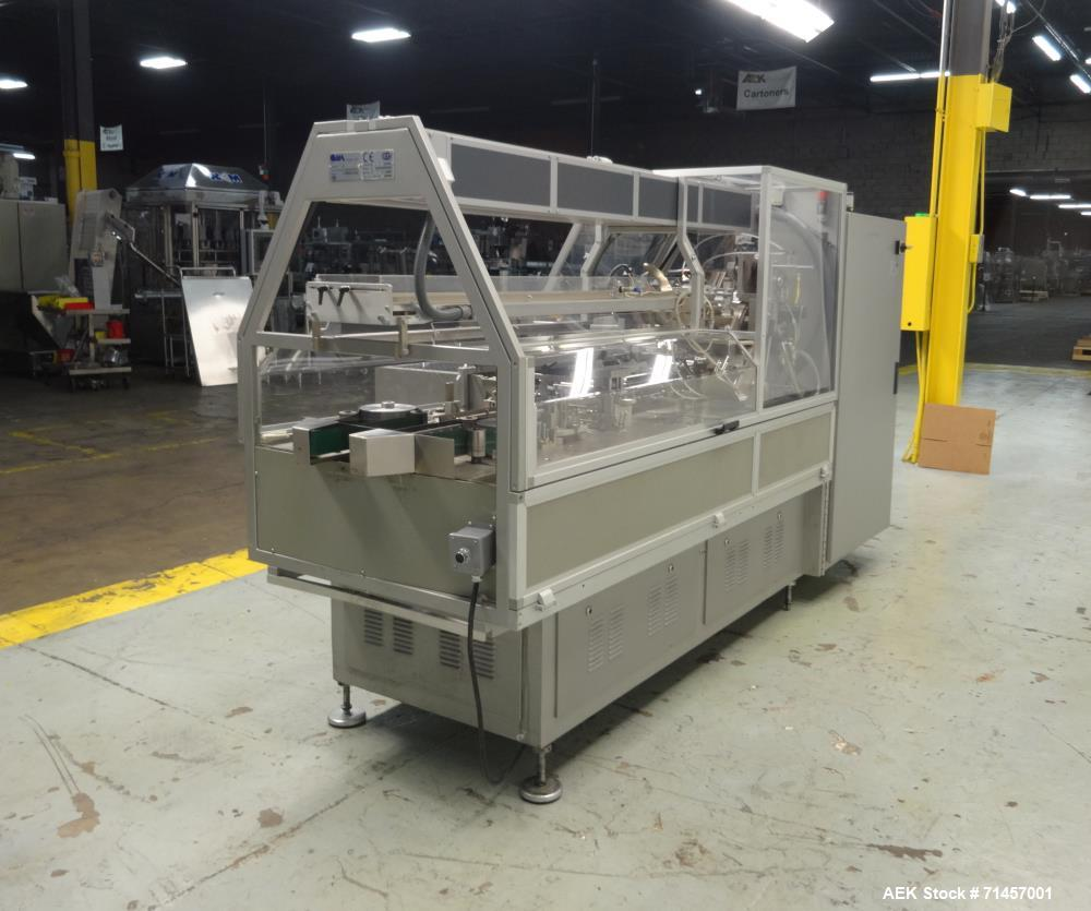 Used- Cam Model HMM.1 Automatic Horizontal Cartoner with Dual Lane Tube Transfer