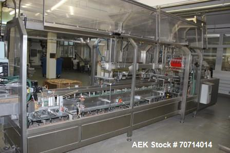 "Used- Dienst horizontal Cartoner HK-II-S-k 12 Zoll-R. Format 3.9""-9.8"" (100mm-250mm) x 2.7""-5.3"" (60mm-135mm) x 5.9""- 11.8 (..."