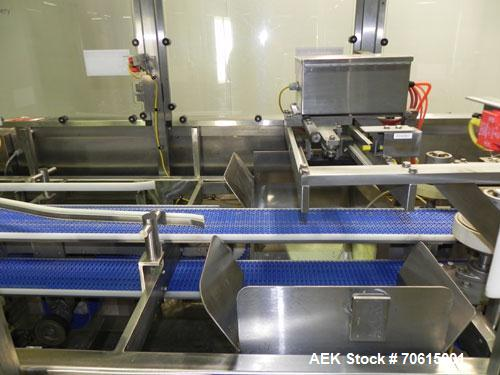 Used- Douglas Machine Model CM Multi-Packer  Continuous Motion Side Load Horizon