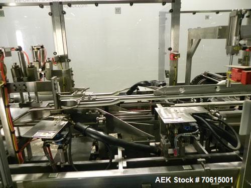 Used- Douglas Machine Model CM Multi-Packer  Continuous Motion Side Load Horizon