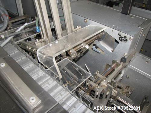 """Used-IWKA CPK Cartoning Machine. Box formats L x W x H: 2.1-5.5"""" x 0.7-3.1"""" x 0.6-2.4"""" (55-140 mm x 20-80 mm x 15-60 mm), ma..."""