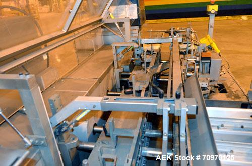 Used-  IWKA CPR Continuous Motion Horizontal Bottle Cartoner