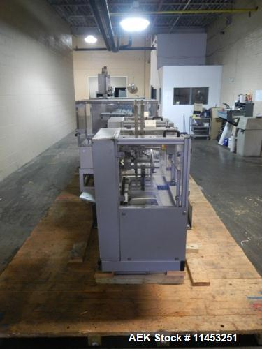 Used- IWKA CPS-R Automatic Horizontal Blisterpack Glue Cartoner with Blister Transfer