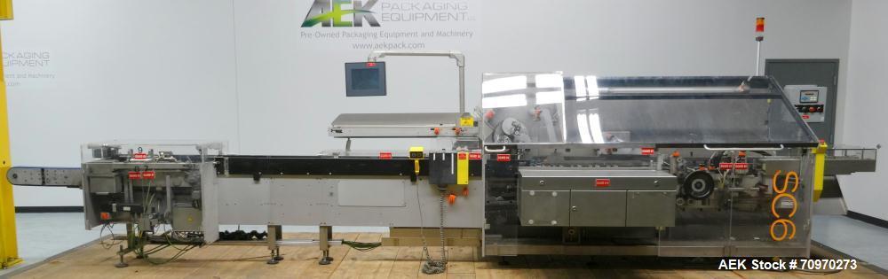 Used- IWKA Cartopac Model SC6 Automatic Horizontal Cartoner
