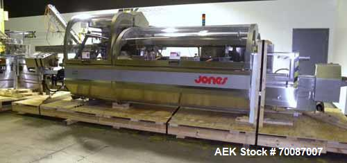 Used- Jones Criterion 2000 Automatic Intermittant Motion Horizontal Cartoner