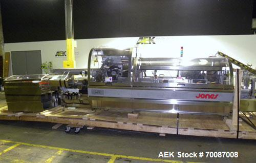 Used- Jones Criterion 2000 Automatic Intermittent Motion Horizontal Cartoner