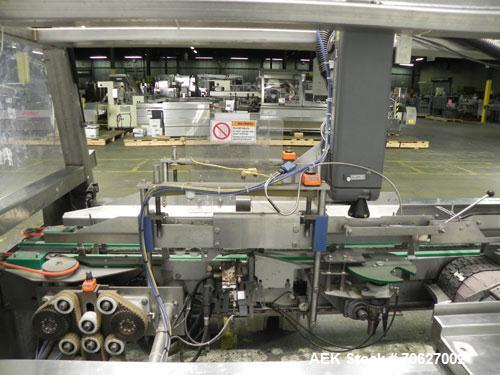 "Used- Kliklok (Woodman) Model SFR Automatic Horizontal Cartoner capable of speeds from 30 to 120 cartons per minute. 12"" cen..."