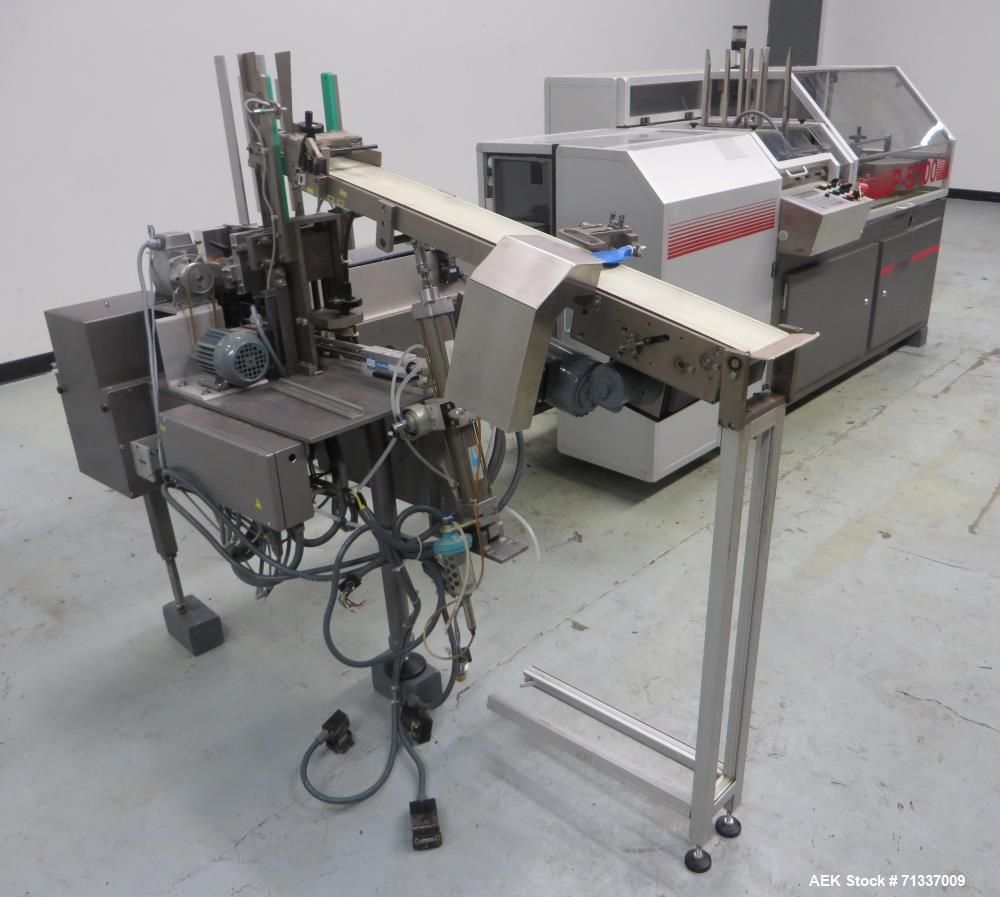 Used- Klockner Model P-5/100 Automatic Horizontal Blister Pack Cartoner
