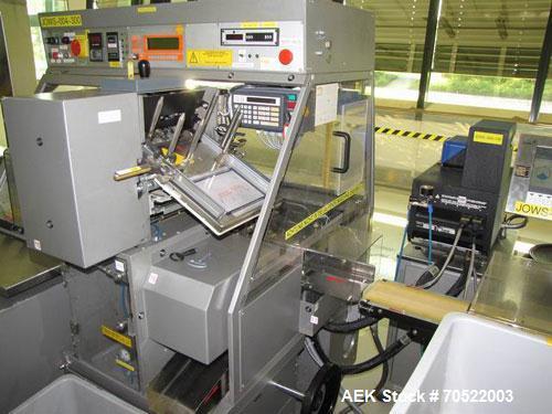"Used-Marchesini BA 50 Box Cartoner. Box formats L x W x H: 2.7-7.4"" x 1.5-5.7"" x 0.7-3.2"" (70-190 x 40-145 x 20-80 mm), maxi..."