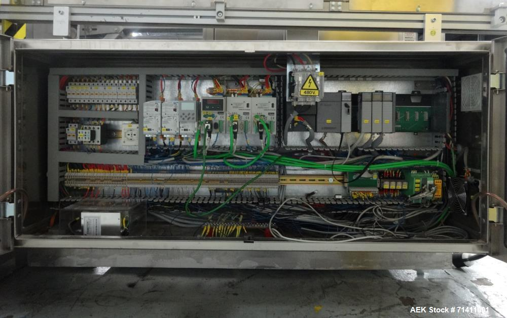 Used- Marchesini Model MA352S Automatic Vial/Bottle Cartoner with Vison System