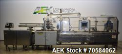 Used-Elliott model CH2 Automatic horizontal cartoner. Capable of speeds up to 300 cartons per minute (depending on applicati...